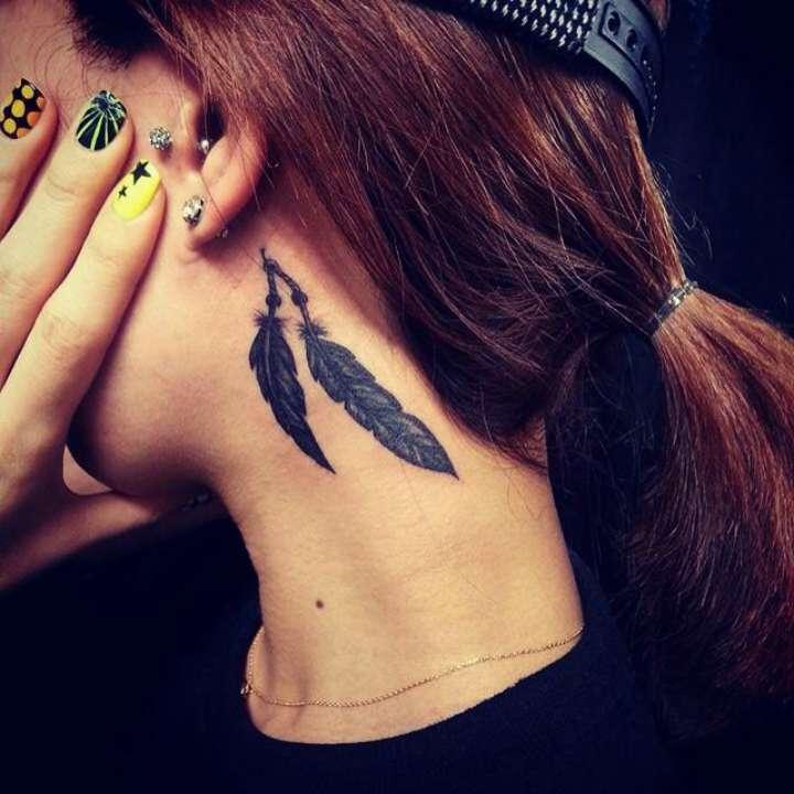 Tatuagem De Pena Veja Os Símbolos E Seus Significados Fotos