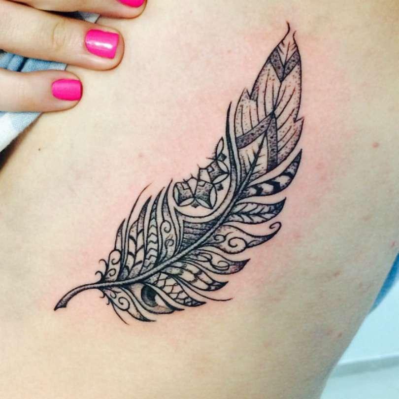 Tatuagem de pena veja os smbolos e seus significados fotos thecheapjerseys Images