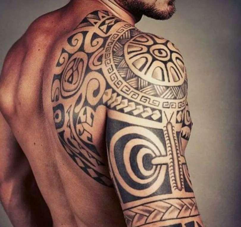 Tatuagem maori no braço 2018