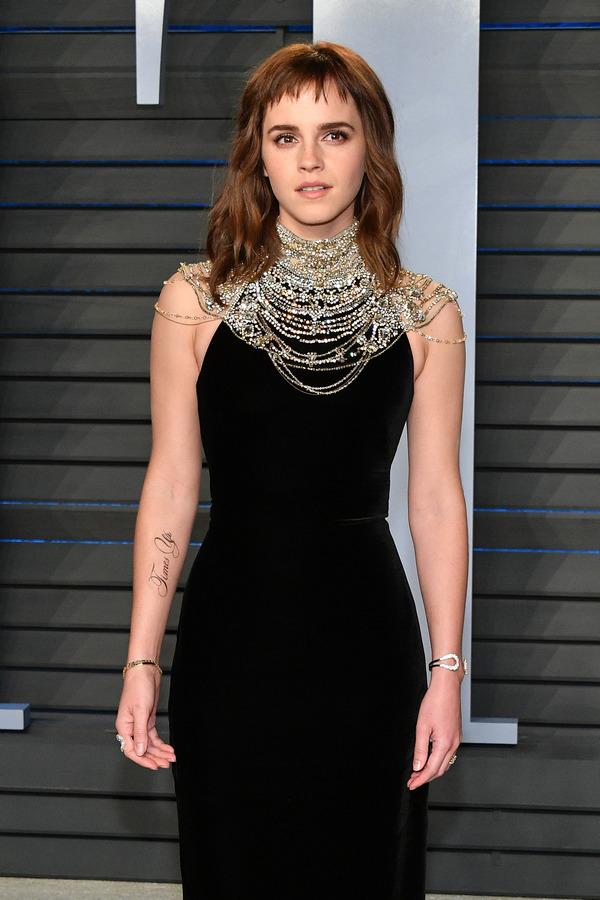 Tatuagens da Emma Watson