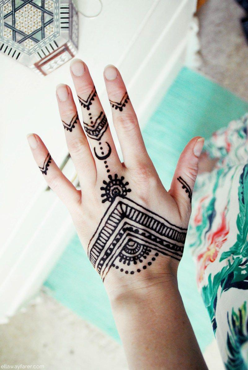 Entenda Como Funciona A Tatuagem De Henna E Veja Se Vale A