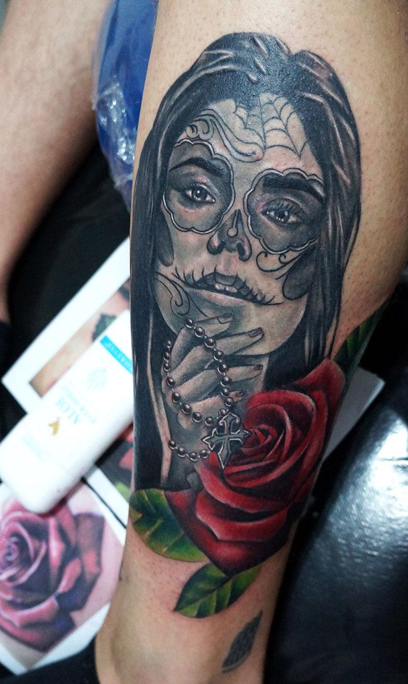 Saiba Tudo Sobre A Mexicana Tatuagem Catrina Amo Tatuagem border=