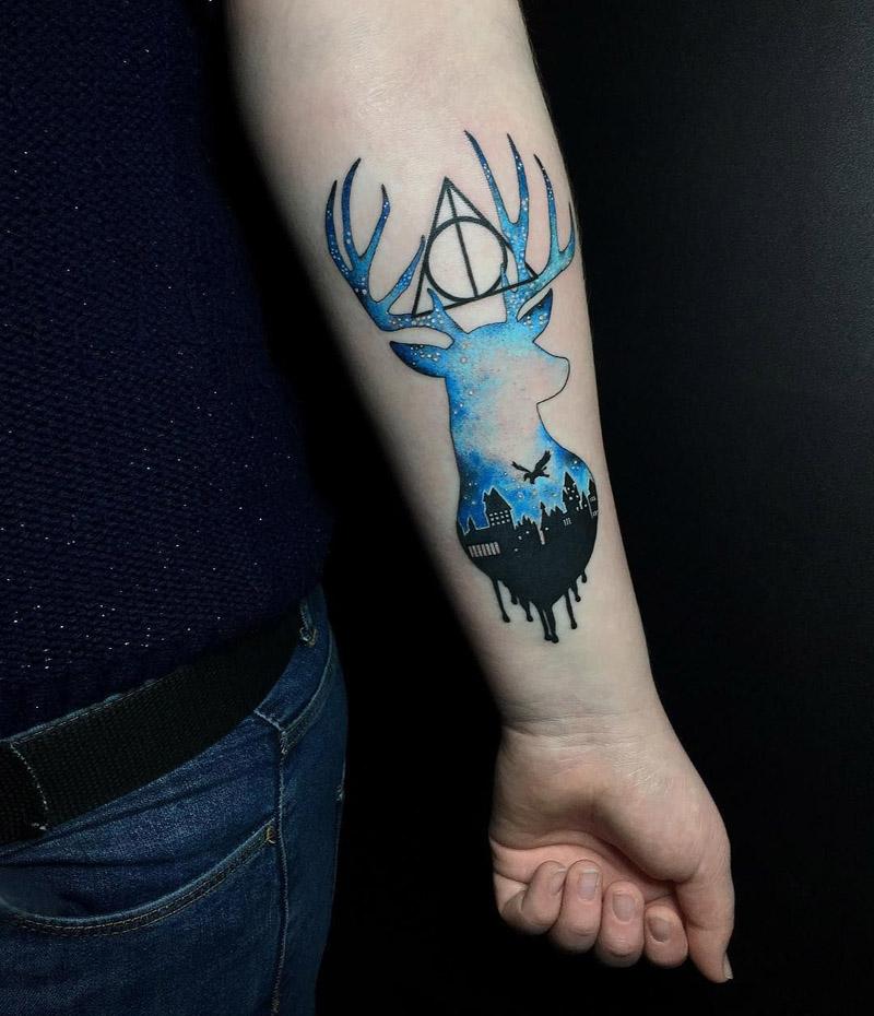 Tatuagem Harry Potter 4 Amo Tatuagem