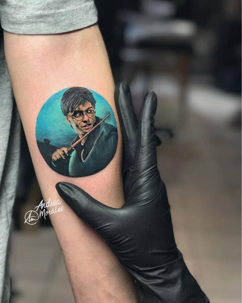 Tatuagem Harry Potter Inspirações E Homenagens De Fãs