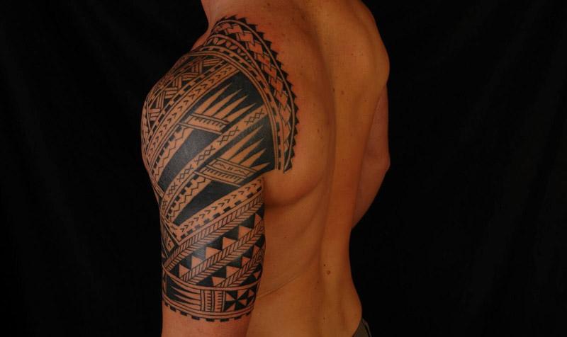 Tatuagem Tribal A Origem O Significado E Algumas Fotos