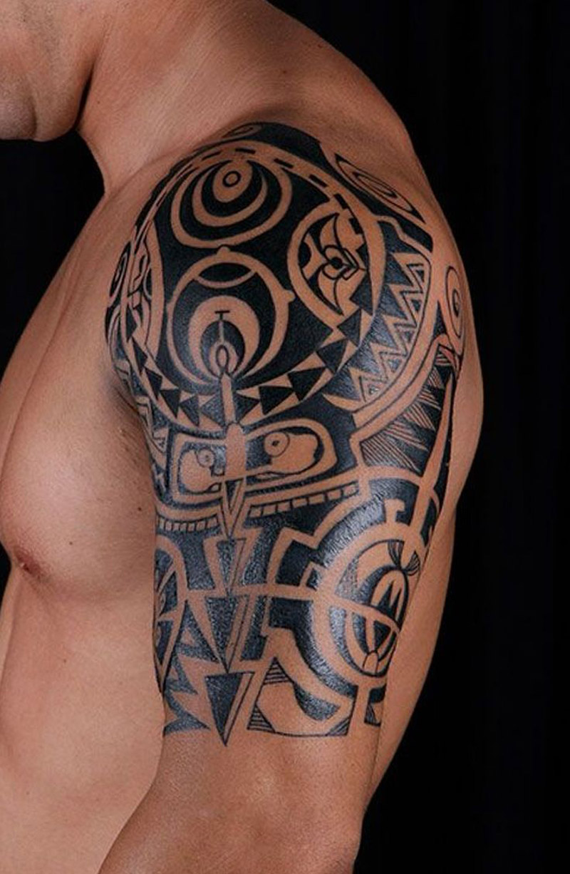 Tatuagem tribal no ombro 2018