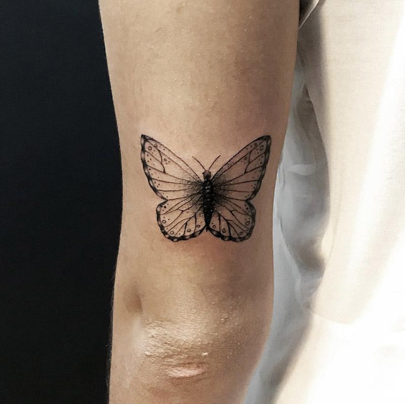 Significado, Ideias E Fotos De Tatuagem De Borboleta