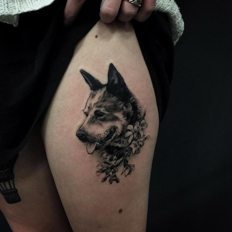 Tatuagem De Cachorro 3