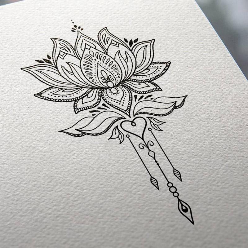 Fotos E Ideias De Tatuagem De Flor De Lótus Para Você Se