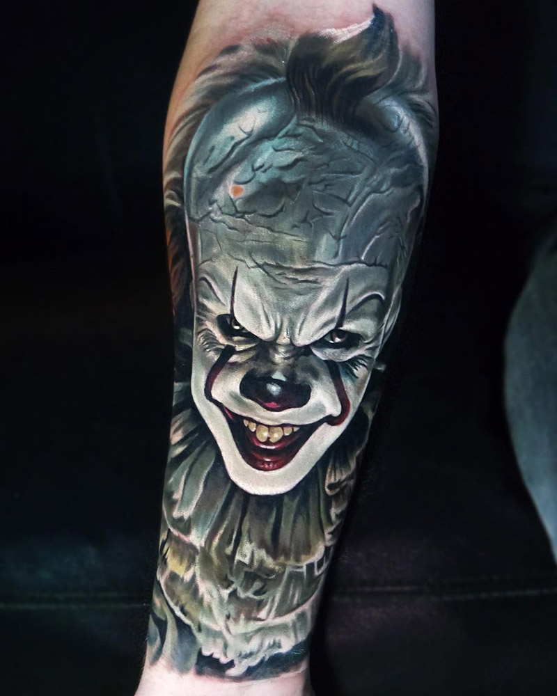 Desenho Palhaço Tatuagem significado da tatuagem de palhaço + fotos e ideias legais