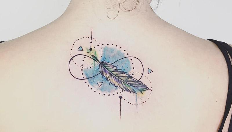 A Tatuagem Do Símbolo Do Infinito Virou Moda Amo Tatuagem