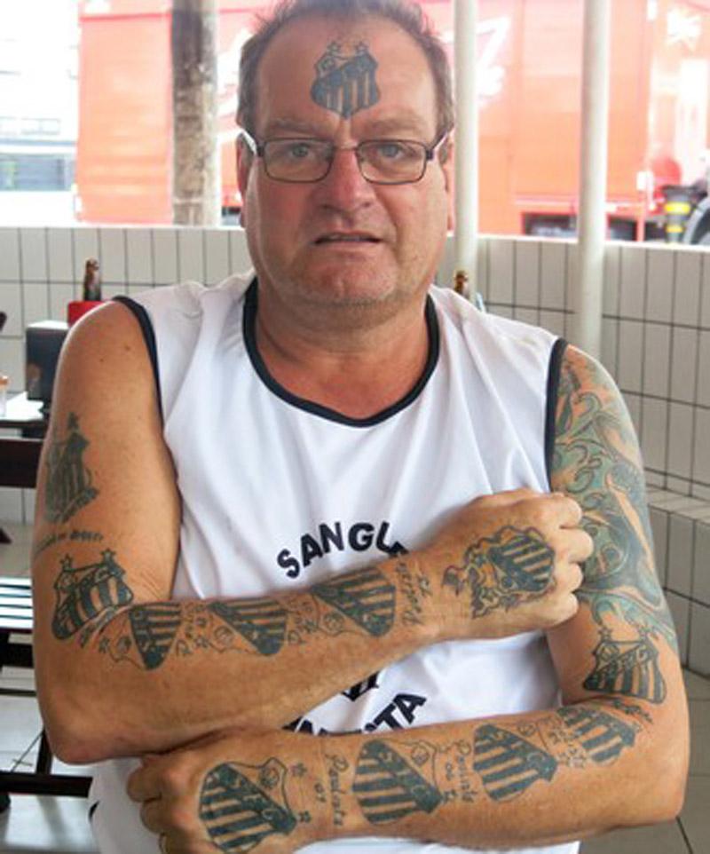 Tatuagem Santos