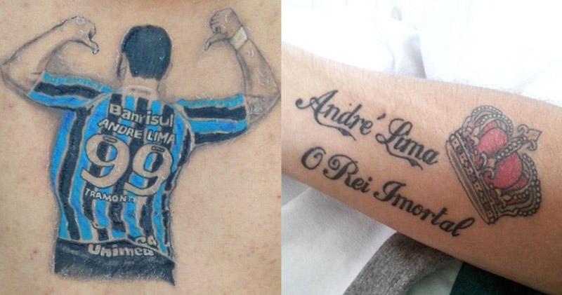Tatuagem André Lima