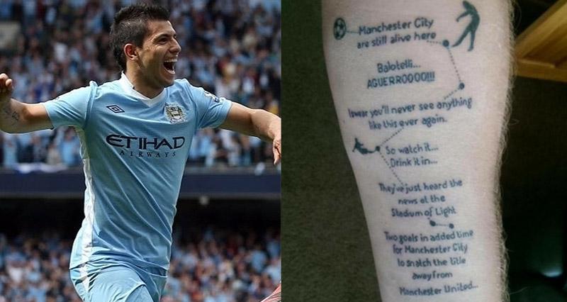 Tatuagem Sergio Aguero