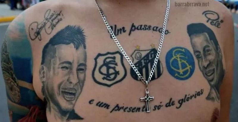Tatuagem Neymar