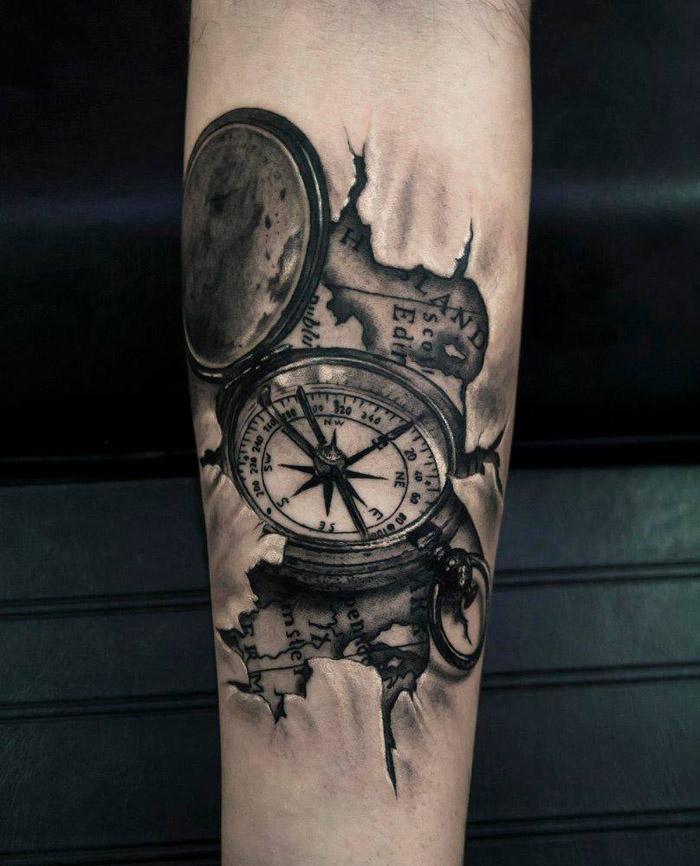 Fotos E Ideias De Tatuagem 3d Para Você Se Inspirar Amo