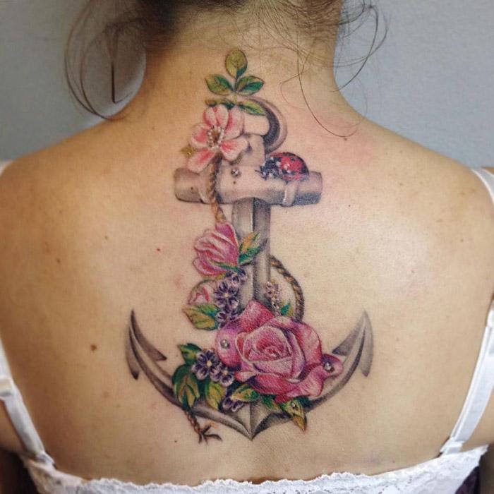 Pensando Em Fazer Uma Tatuagem De âncora Confira Dicas E Fotos