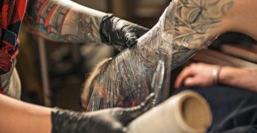 Pomada para tatuagem