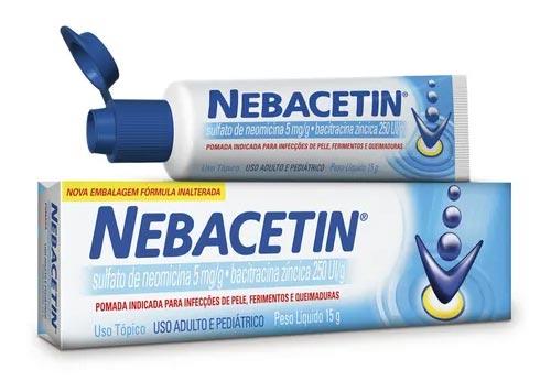 Pomada para tatuagem Nebatecin