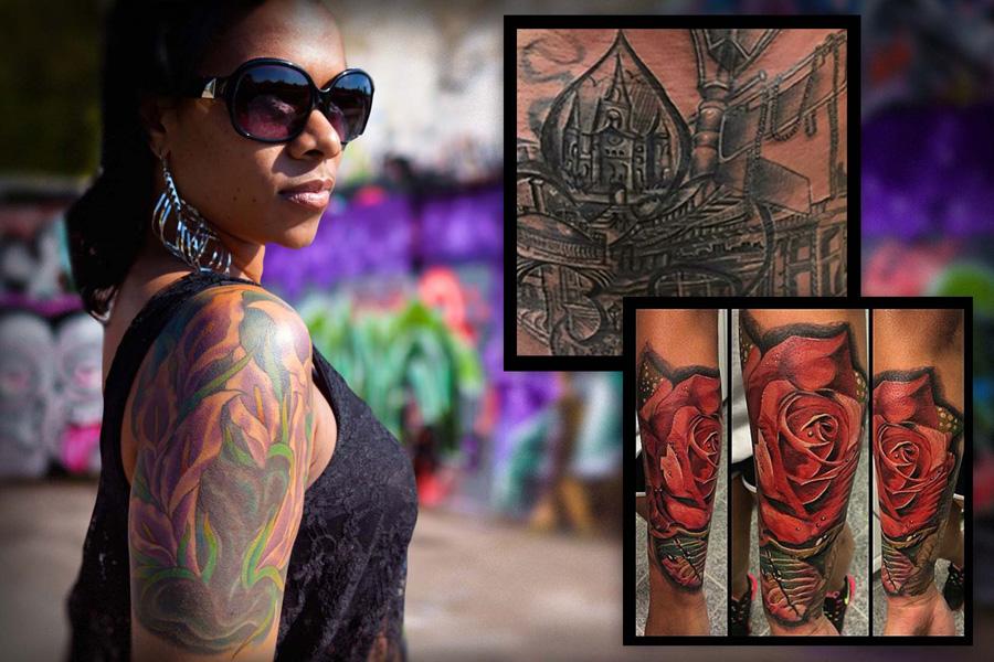 Tatuagem Em Pele Negra é Claro Que Fica Lindo Confira