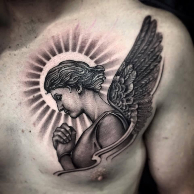 Tatuagens De Anjo Amo Tatuagem