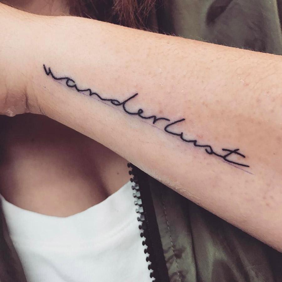 Tatuagens Wanderlust