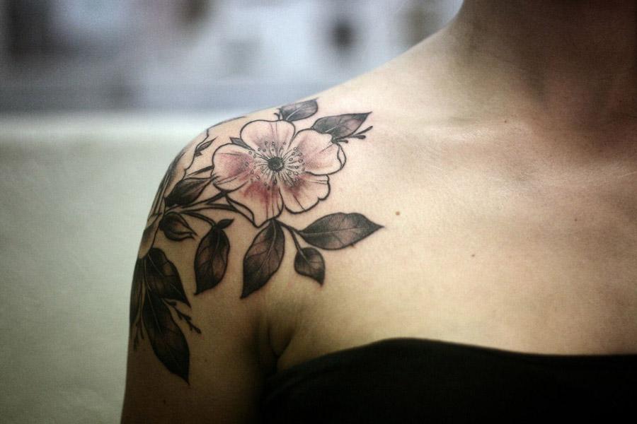 Tatuagens No Ombro Várias Inspirações Para Sua Nova Tattoo
