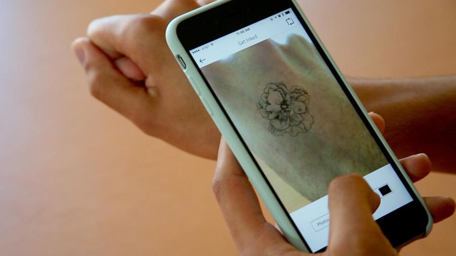 Aplicativos de tatuagem