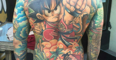 Tatuagens de Dragon Ball