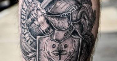 Tatuagens de armadura