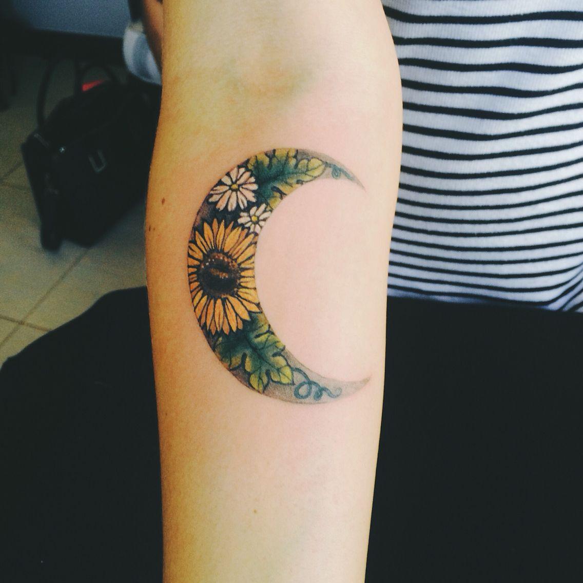 Tatuagens de girassol