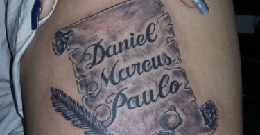 Tatuagens de pergaminho