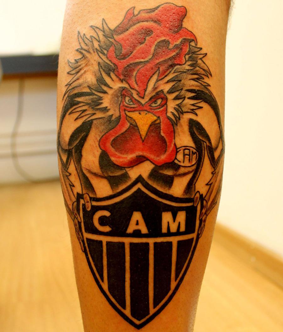 Tatuagens do Atlético Mineiro