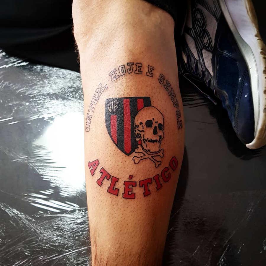 Tatuagens do Atlético Paranaense