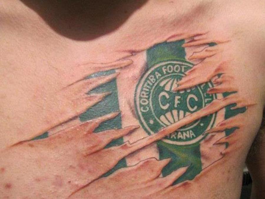 Tatuagens do Coritiba