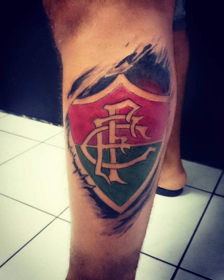 10 Tatuagens Do Fluminense Inéditas E Incríveis Amo Tatuagem