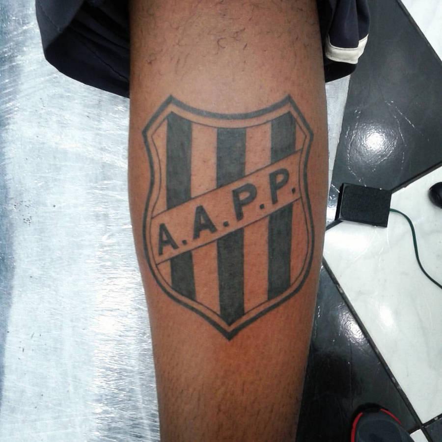 Tatuagens do Ponte Preta