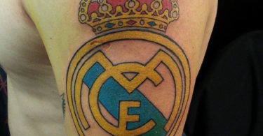 Tatuagens do Real Madrid