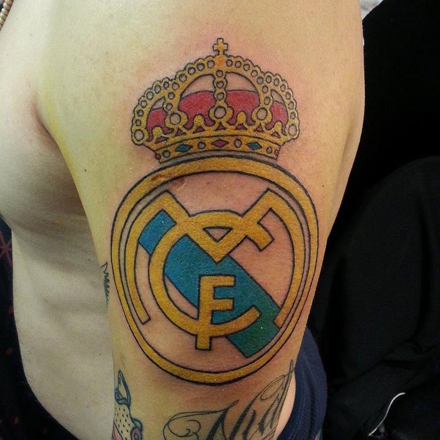 Tatuagens do Real Madrid