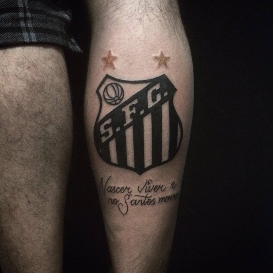 Tatuagens do Santos FC