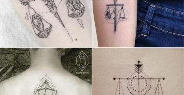 Tatuagens do signo de Libra