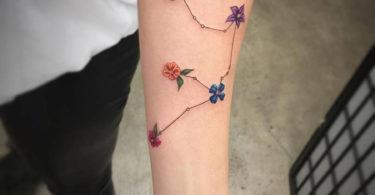 Tatuagens do signo de aquário