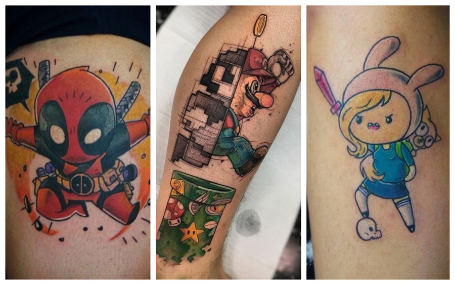 Tatuagens geek