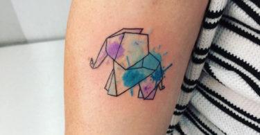 Tatuagens origami