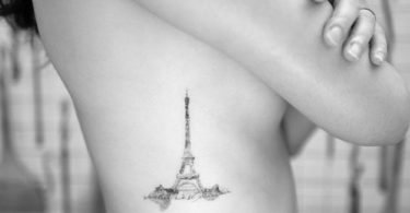 Eiffel Tattoo