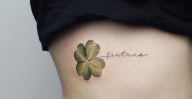 Tatuagem de trevo