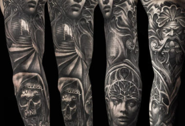 Tatuagem gótica