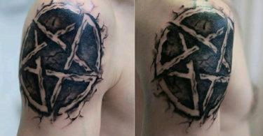 Tatuagens de pentagrama
