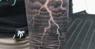 Tatuagens de raio