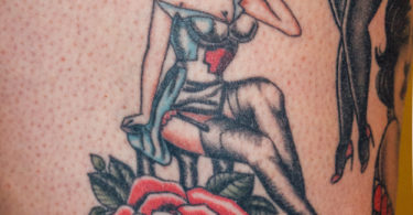 Tatuagens pin-up